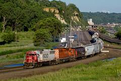 SOO 6023 (John Fladung) Tags: railroad train canadianpacific sooline cp soo divisionstreet emdsd60 westdivisionstreet