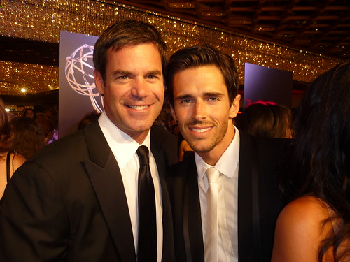 Tuc Watkins and Brandon Beemer by you.