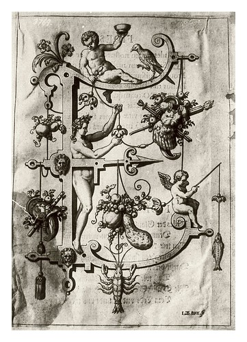 006-Letra E- Eros-Neiw Kunstliches Alphabet 1595- Johann Theodor de Bry