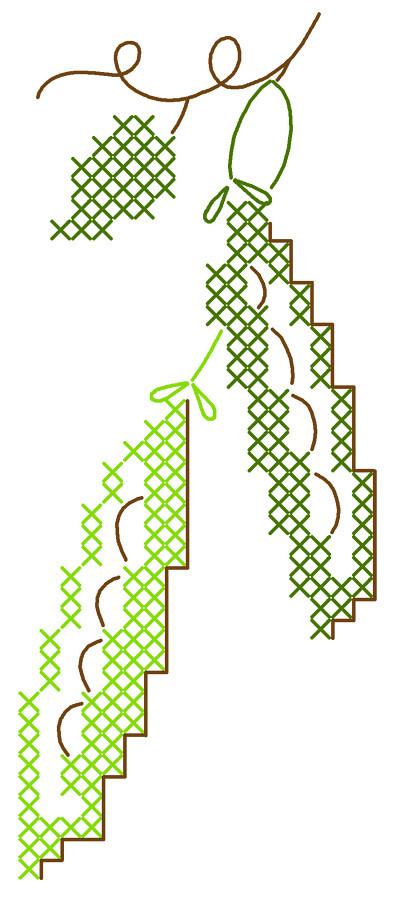 peas pattern