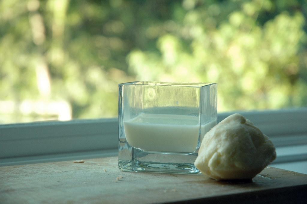 butter and buttermilk
