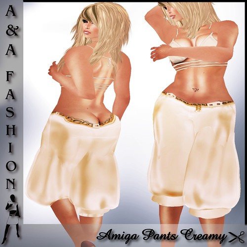 A&A Fashion Amiga Pants Creamy