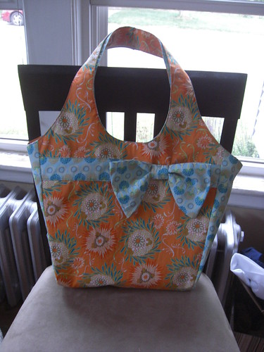 Another Market Bag - Front - folded in