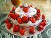 Origami Strawberry Cake