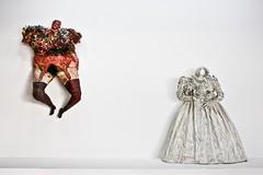 Crucifixion, The bride (Kumar nav) Tags: new saint de toys bride la divers eva mesh lace maria painted glue centre poetic plaster muse moderne national ou reality nouveau various recycling pompidou niki phalle dart dentelle crucifixion nanas 1965 realism grillage 1963 the jouets pltre ralisme marie peints a of ellespompidou encolle