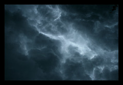 Angry Sky (Cigar Lady) Tags: storm doom overhead thunder rolling boiling cracking blackcloud churning theskiesopenup