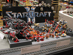 StarCraft II display at Brickworld