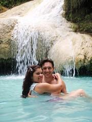 Nat et Nico étage 7 de Erawan waterfalls
