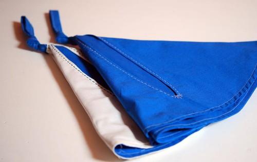 folded bags