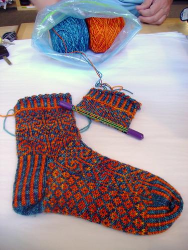 Nicole's Harika Socks - Tosh Sock