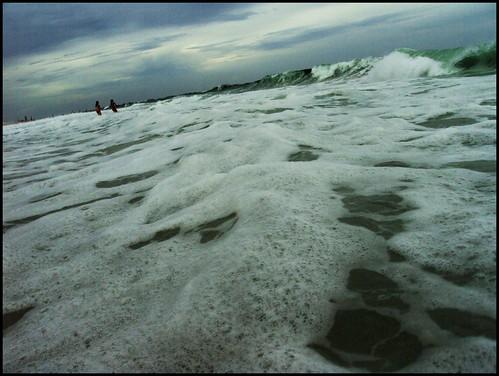 overcast surf