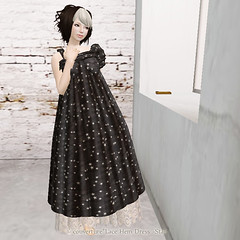 Lace Hem Dress Star AD for vender
