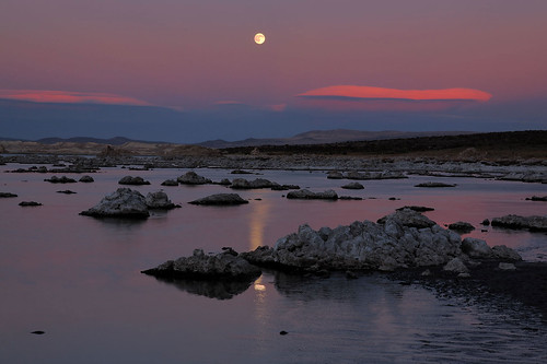 Mono Lake, Ca - The mysterious orb from outerspace