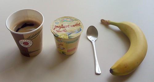 Vanillejoghurt & Banane
