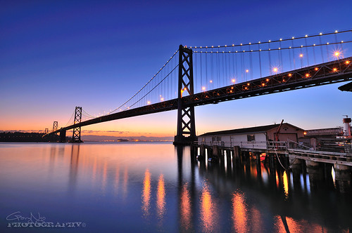 Pre Dawn @ Bay Bridge