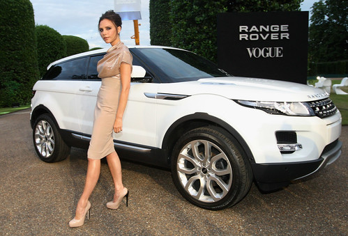 Range Rover Evoque - Victoria Beckham and the Range Rover Evoque