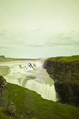 Iceland (Lukasz Baszko) Tags: nature water glass 35mm waterfall iceland long exposure welding gulfoss weldingglass d700