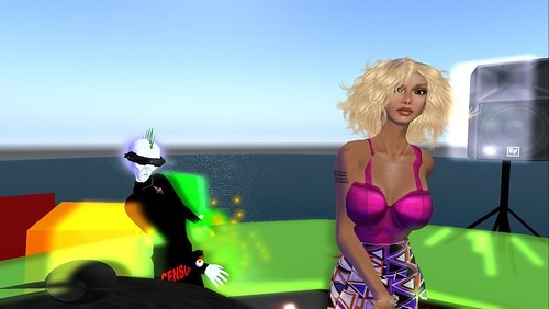 mr widget and raftwet jewell at muzik haus