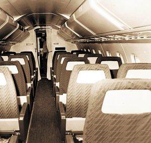 Interior del Concorde en Villanubla