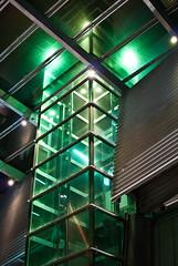 The Green Elevator () Tags: 35mm nikon elevator australia brisbane qut d40x