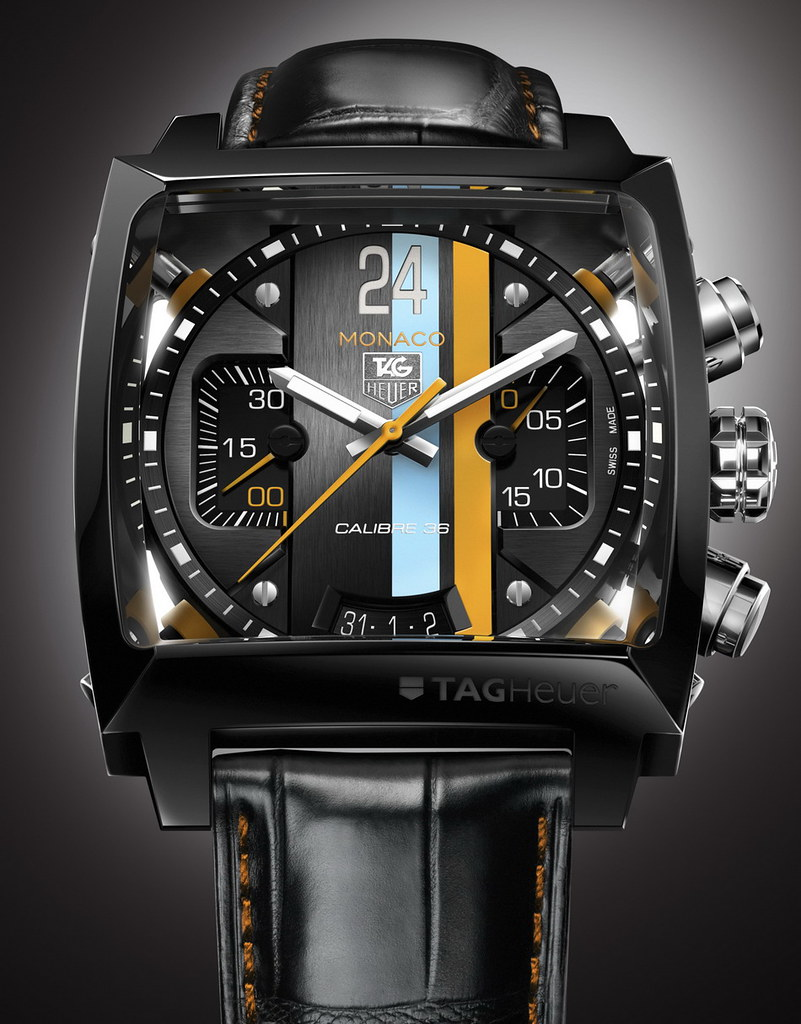 Ultimate Guide To The Tag Heuer Monaco Gulf Series
