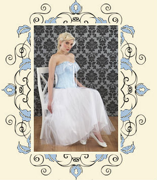 Alice corset and ballet tulle skirt by Lulu and Lush