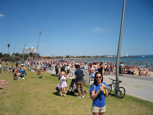 St Kilda Beach Sunshine