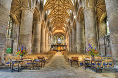 Tewkesbury Abbey (Pe51ter Chapman) Tags: church abbey nikon cathedral gloucestershire nikkor hdr tewkesbury tewkesburyabbey 1224mmf4 pe51ter hdrpro