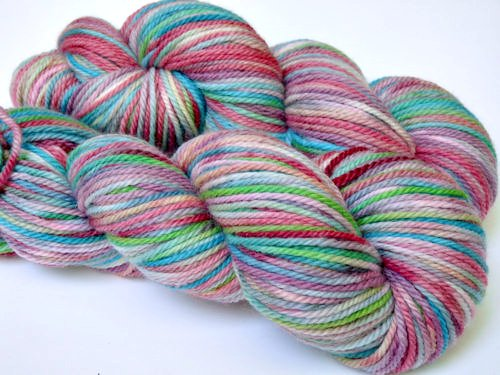 ~Fairy Dust~ Soyeux BFL Aran *Kettle Dyed* <b>SALE