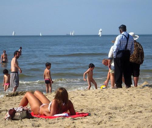 Praia na Holanda: Scheveningen em Haia