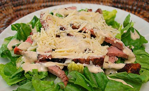 Steak Ceasar Salad