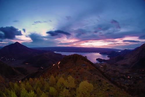 Sunrise of Danau Toba from Tele