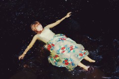 (amber ortolano) Tags: digital self river this dress memories like lot dreaming wooohooo a i waterfloat