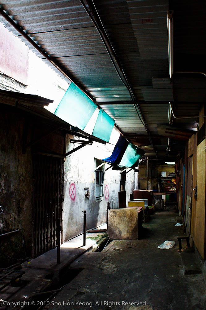 Emptiness, Petaling Street Market @ KL, Malaysia