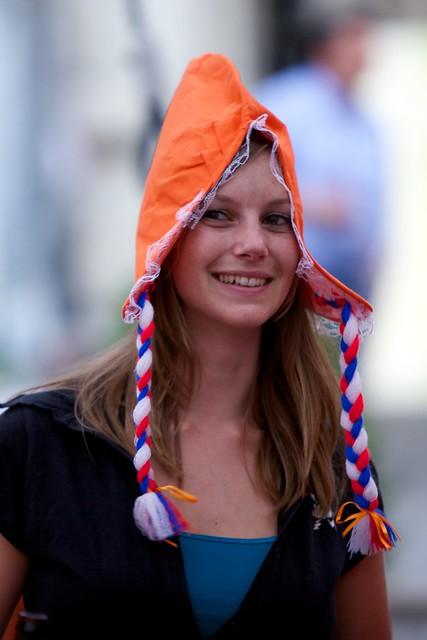 Holanda linda chica mundial