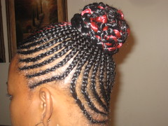 Cornrows by Express Braiding in Columbus, OH (expressbraiding) Tags: braids cornrows braiding africanhair microbraids kinkytwist columbusbraids