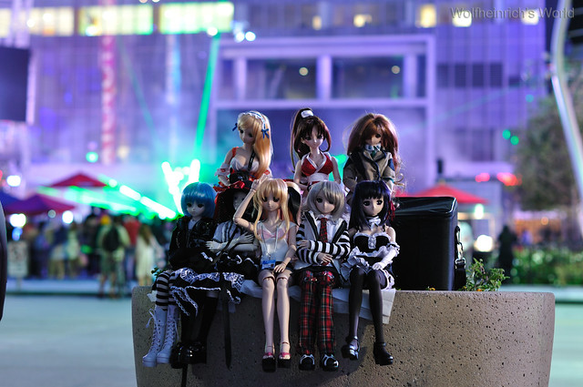 Volks Dollfie Dream ドルフィー DD娃娃 Kiriha Kuze 紅瀬桐葉 in Nokia Plaza