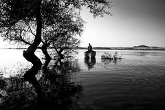 (guvenkebeci) Tags: lake tree fisherman 2009 aa gl balk balk