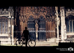 Life is Like Riding a Bicycle (Rick Nunn) Tags: bike lincoln type explored strobist p502 project50 p502010