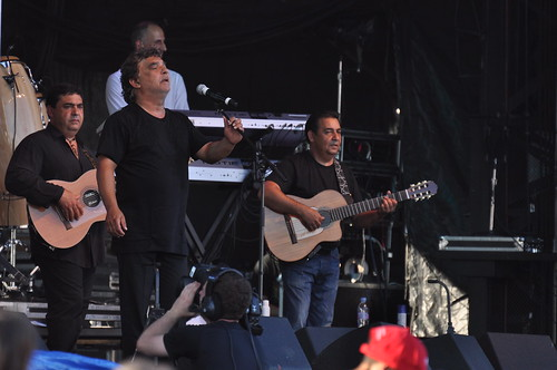 The Gipsy Kings at Ottawa Bluesfest 2010