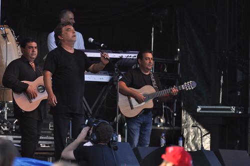 The Gipsy Kings at Ottawa Bluesfest 2010