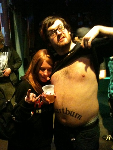 Me & Trevor Strnad of The Black Dahlia Murder