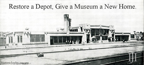Support the renovation of the Joplin Union Depot as a new home for the Joplin Museum Complex!