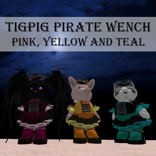 Tig Pig's Pirate Wench