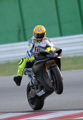 Valentino Rossi - Test ride in Misano