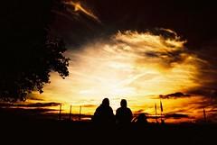 Sunset (mi..chael) Tags: street sunset people living lca lomography kodak toycamera sydney australia slidefilm chrome   ebx100 flickrunitedaward