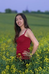 STF Tiph (Jim U) Tags: summer portrait fields bloomington tiff canola sonyhvlf56amflash sony135mm28t45stf sony900
