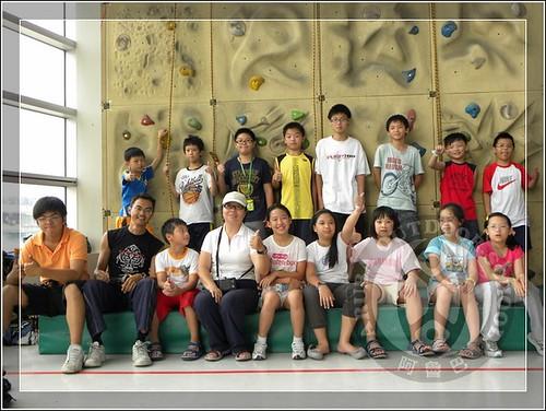 20100707阿魯巴攀岩課程夏令營11