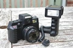 Pantium camera & flash (davidneal) Tags: plastic pantium