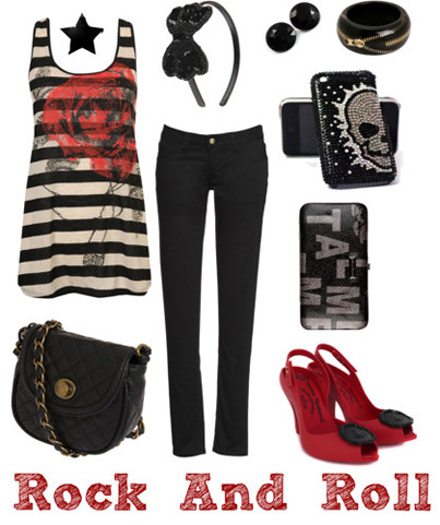 Polyvore: Rock And Roll